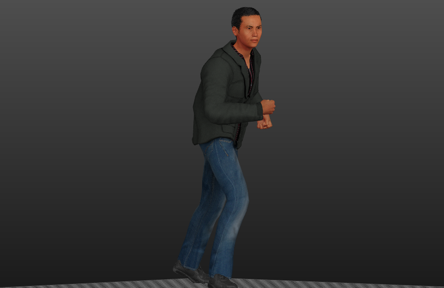 Donnie Yen Video Game Character