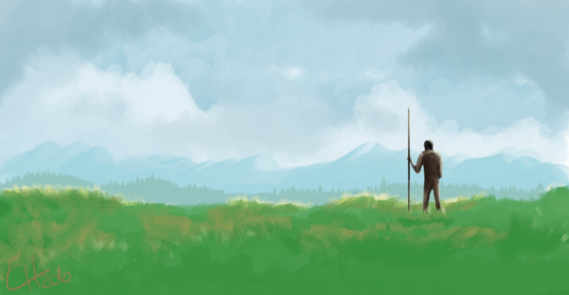 Digital Painting 028 - Adventure