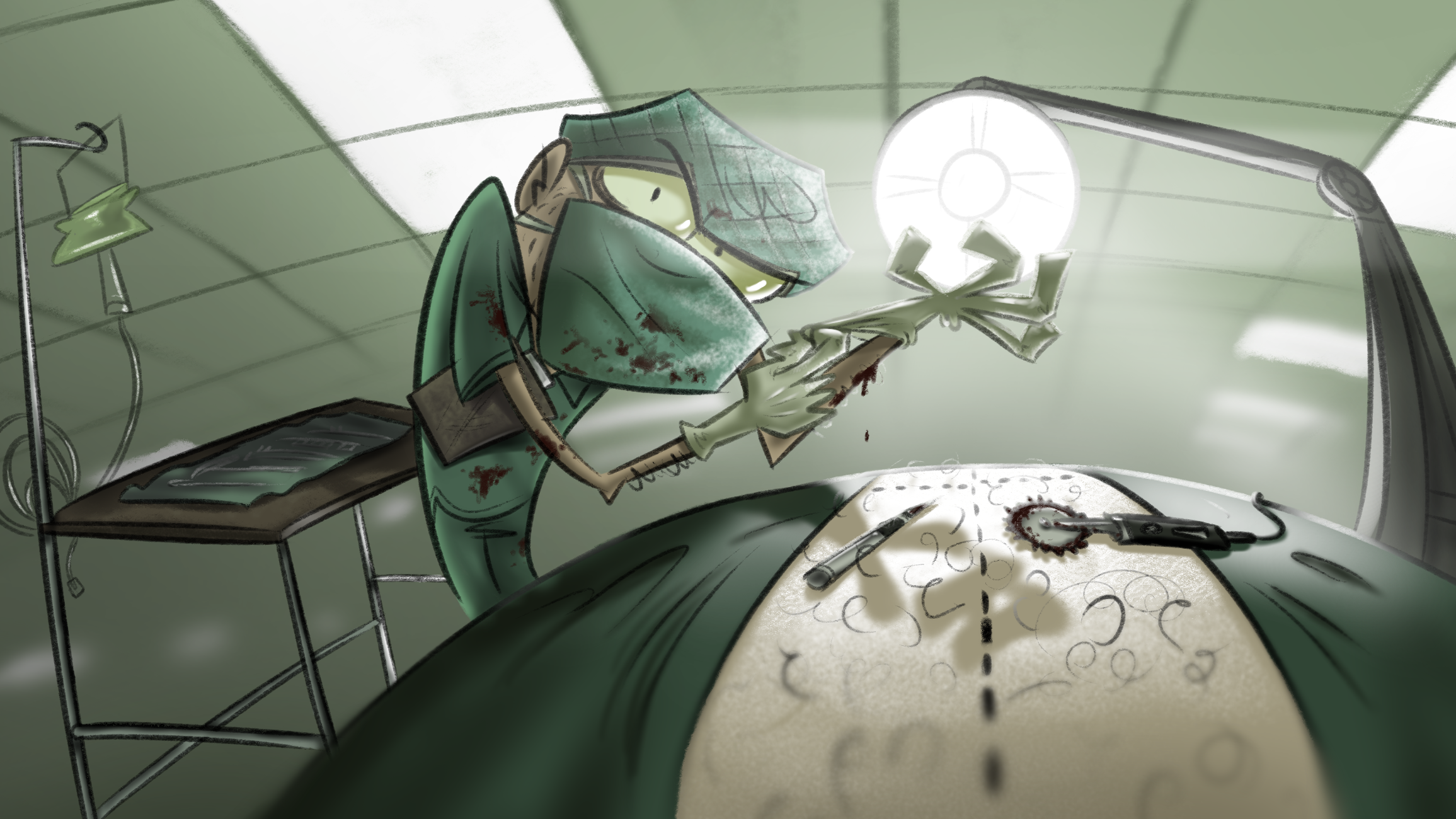 Spooky doctum