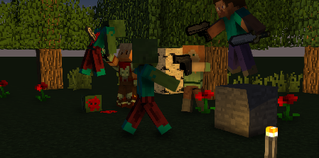 If Minecraft Was a Violent Game