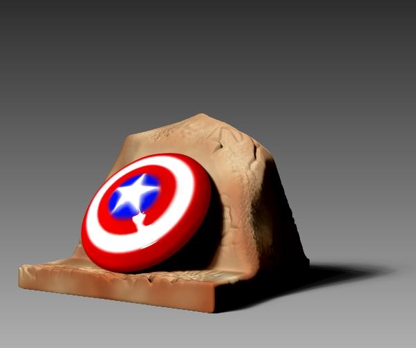 Captain America Shield Fanart