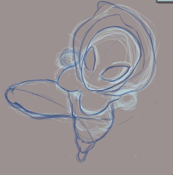 spidergwen WIP sketch