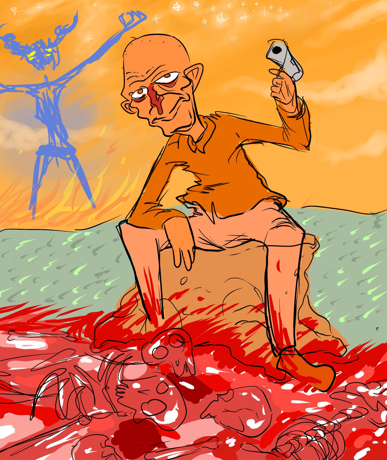 Orange Combat; The beginning
