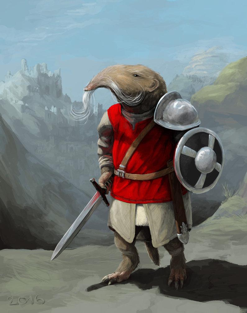 Redwhisker Swordshrew