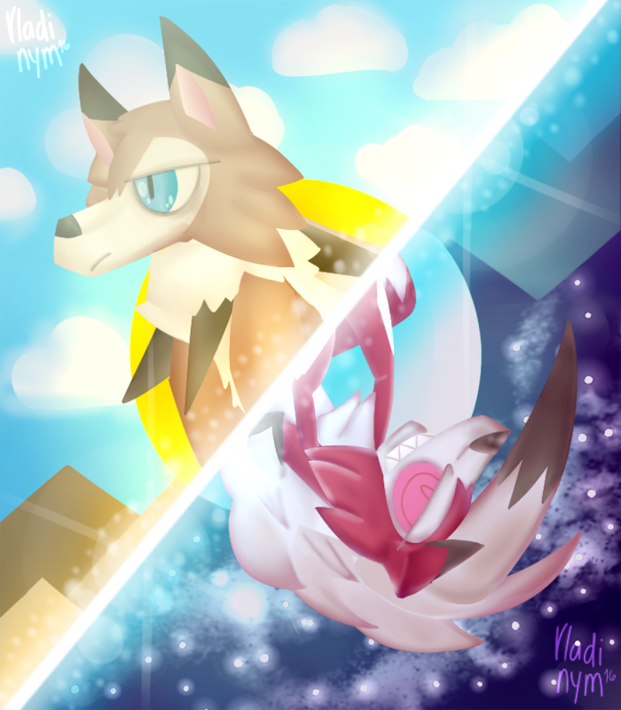 These two Lycanrocs