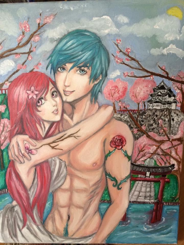 Sakura and Akaibara
