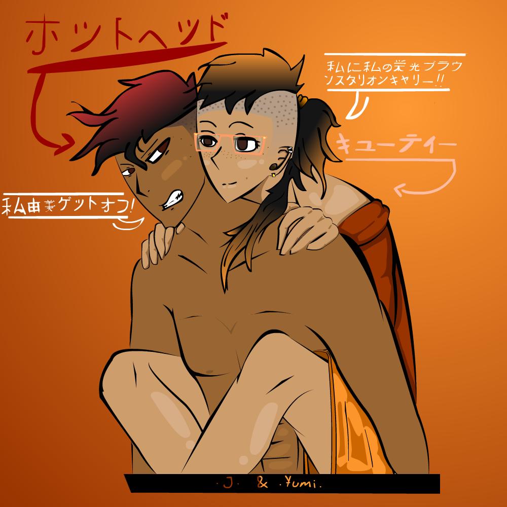 [J and Yumi]