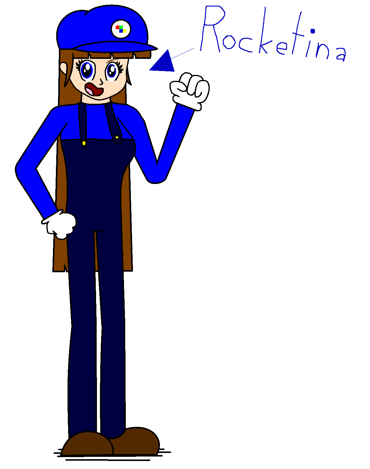 New Super Mario Character