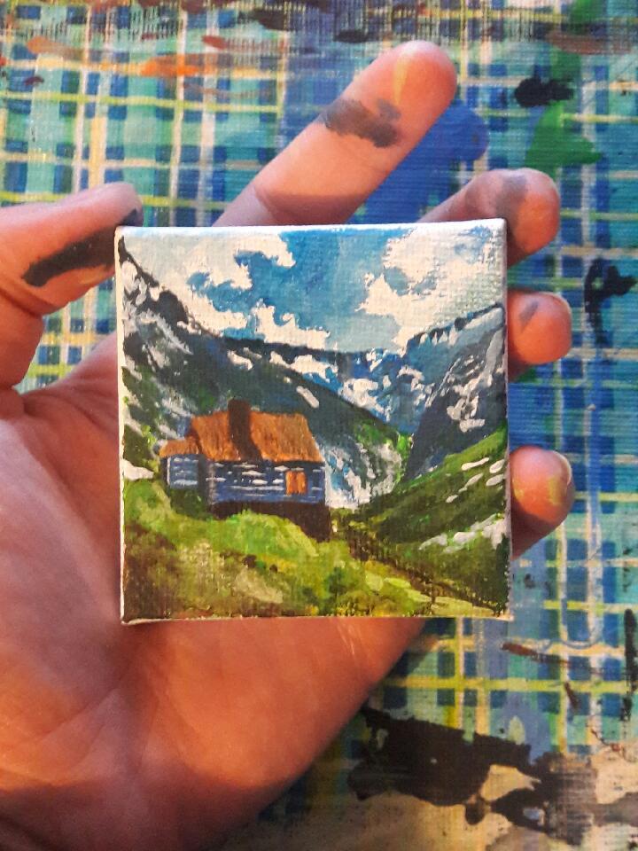 Mini Mountain Landscape