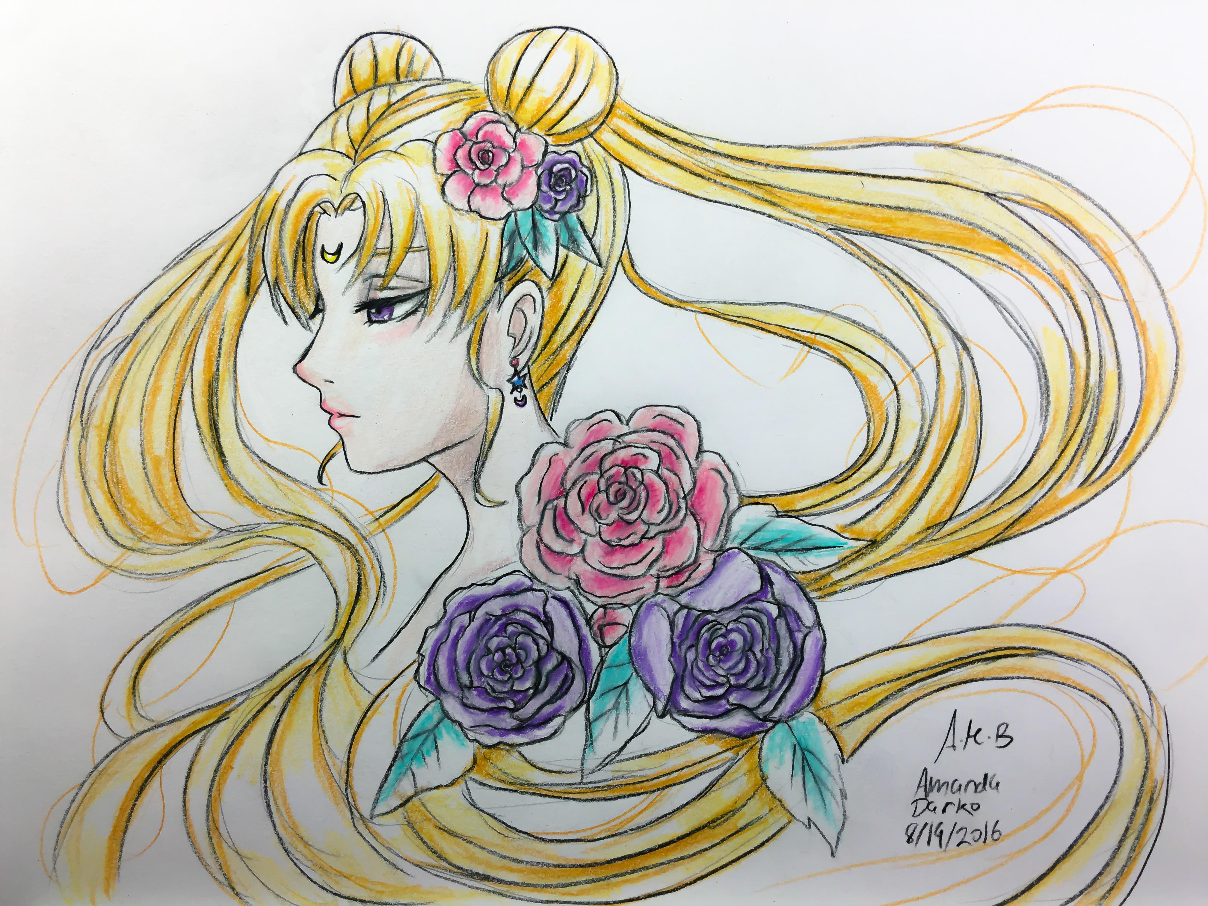 Sailor moon design