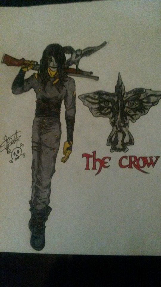 Eric Draven The Crow My Art