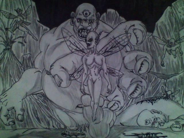 Ogre's and Dark Fairy's