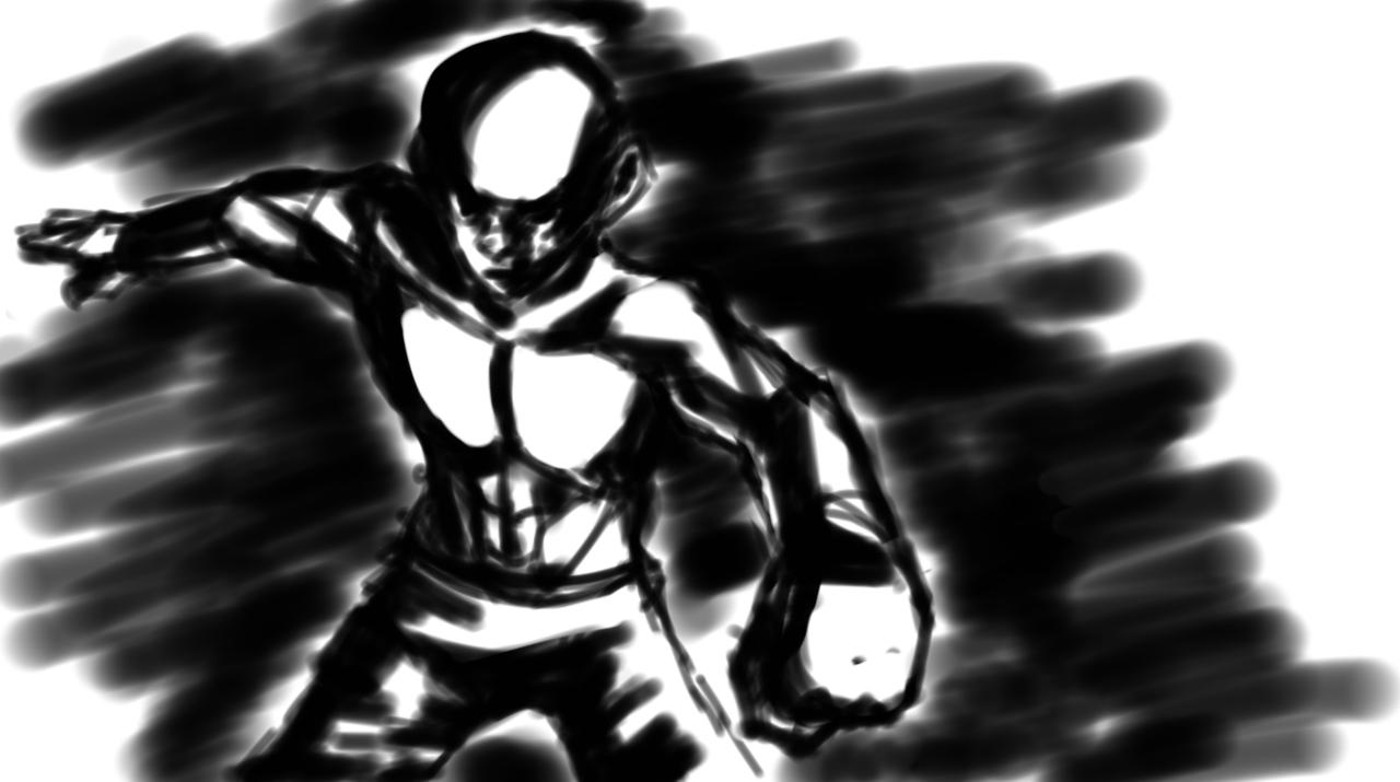 Speedpaint - Bald Fighter Guy