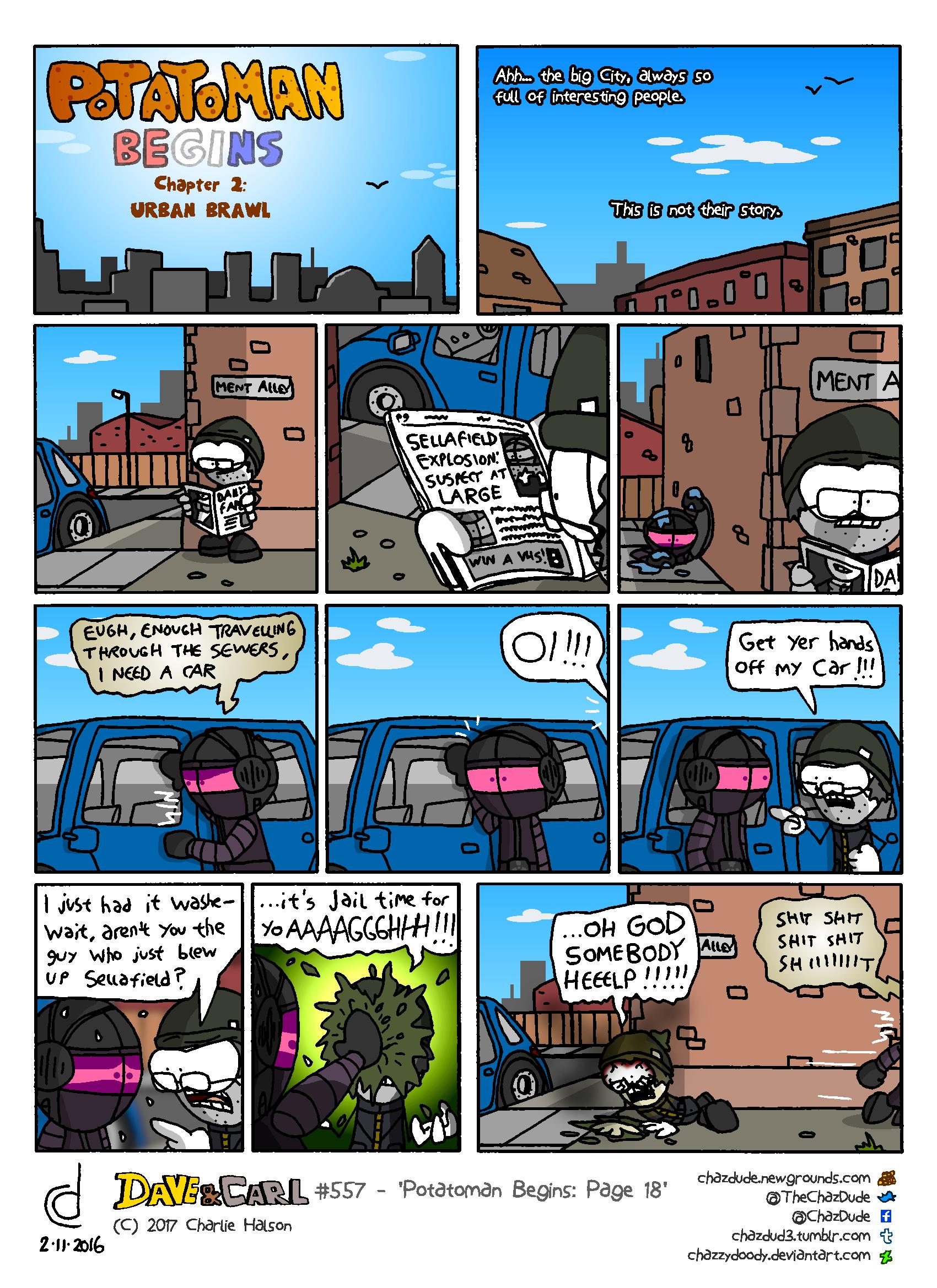 Potatoman Begins: Page 18