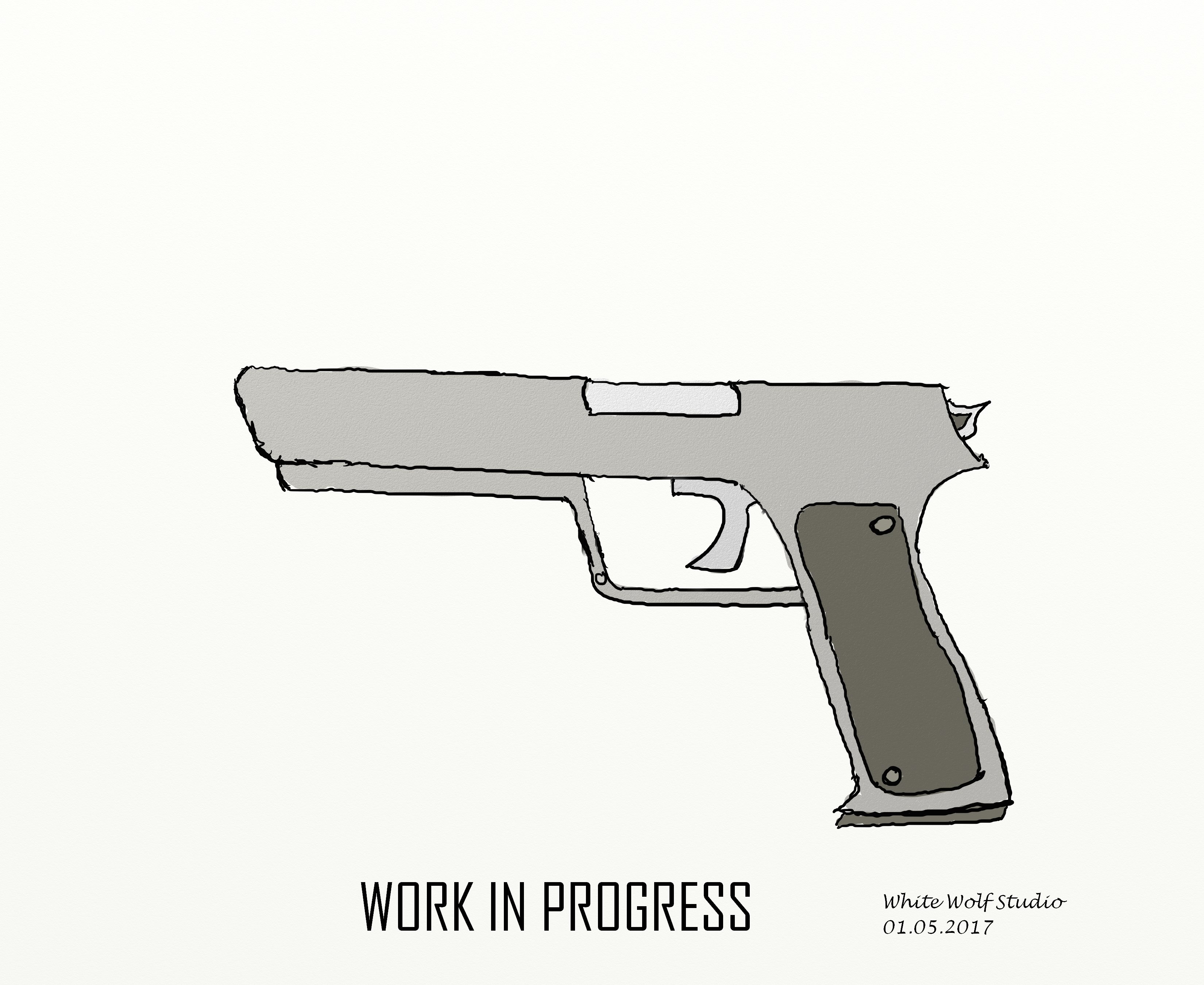 [Work in Progress] Guns - Pistol