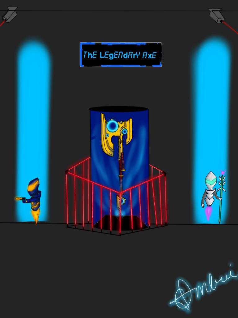 The legendary axe
