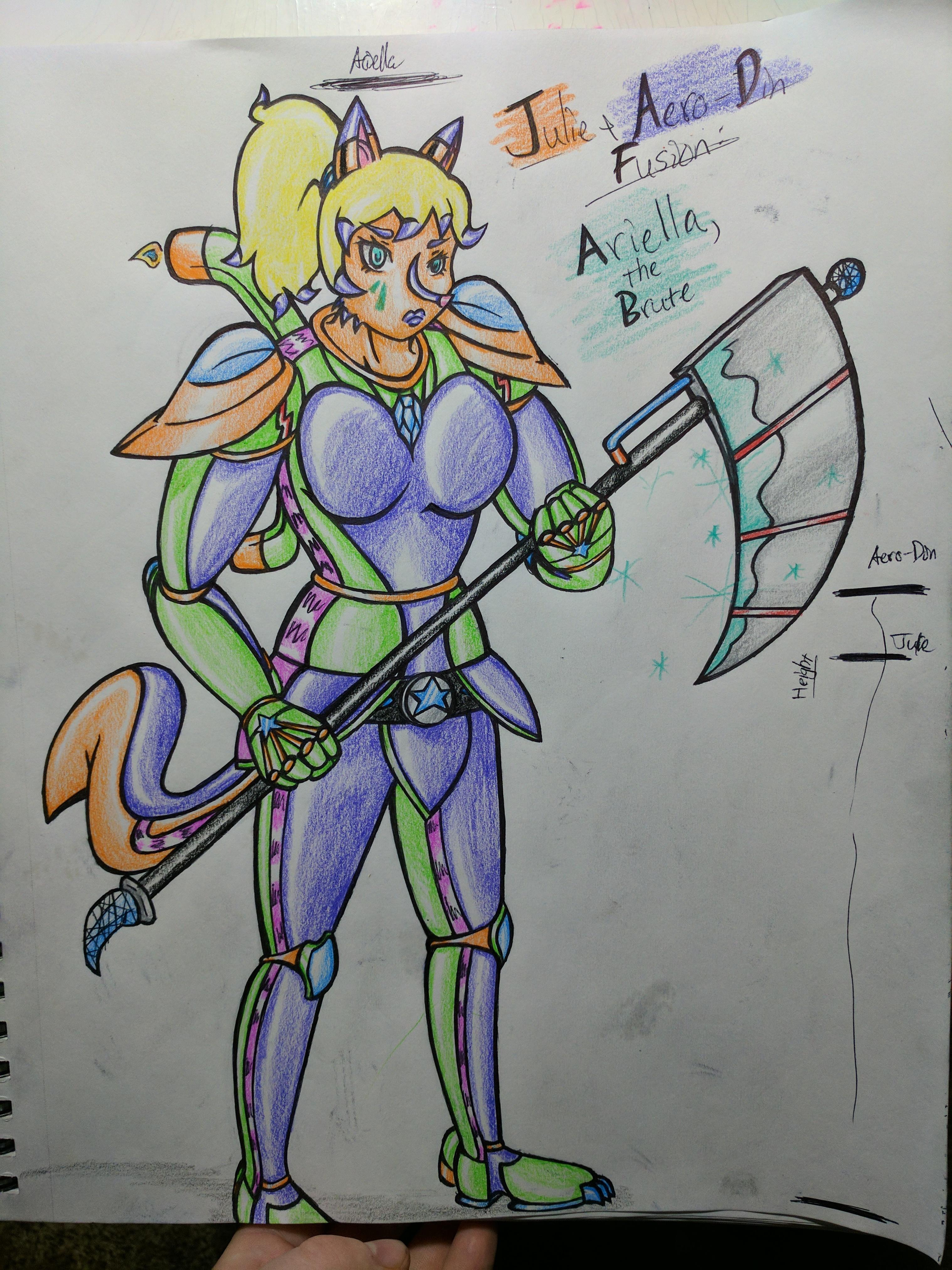 Welcome the Fusion: Ariella, the Brute