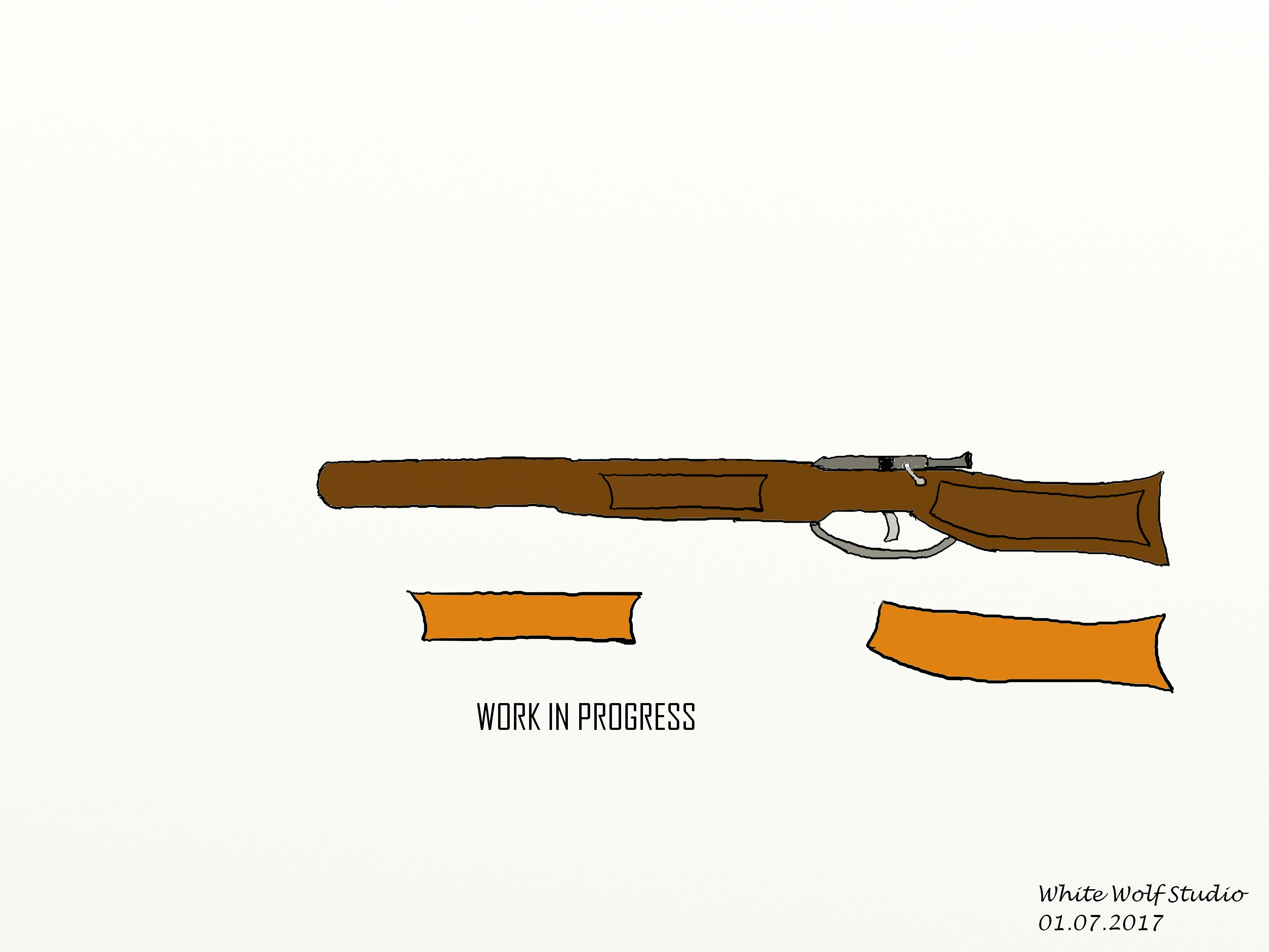 [WIP] Guns - Bolt Action Rifle