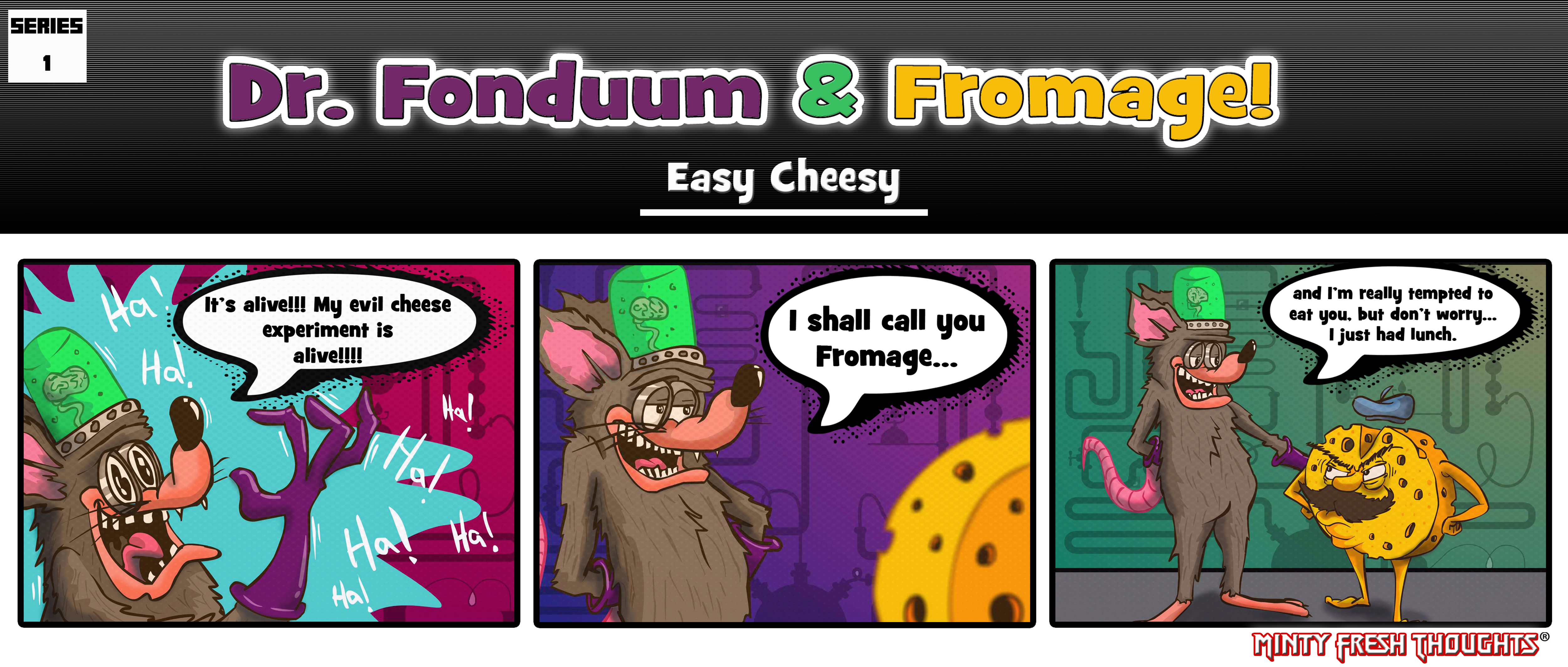 Dr. Fonduum & Fromage Volume 1 #01