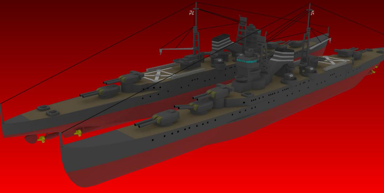Heavy Cruiser Suzuya