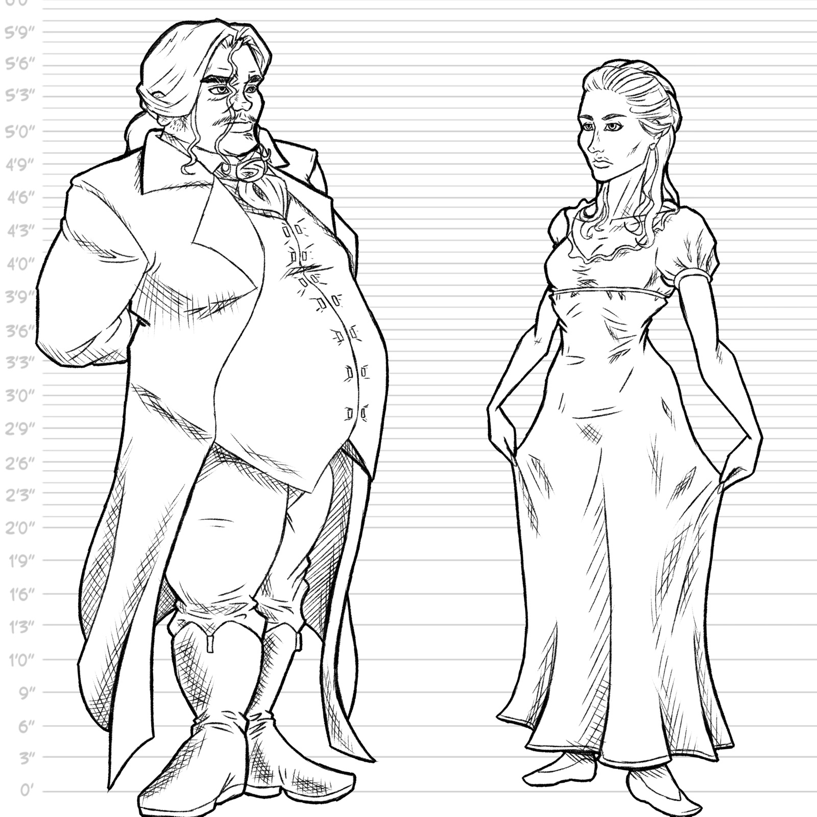 Lord Briarthorn and Lady Hastings