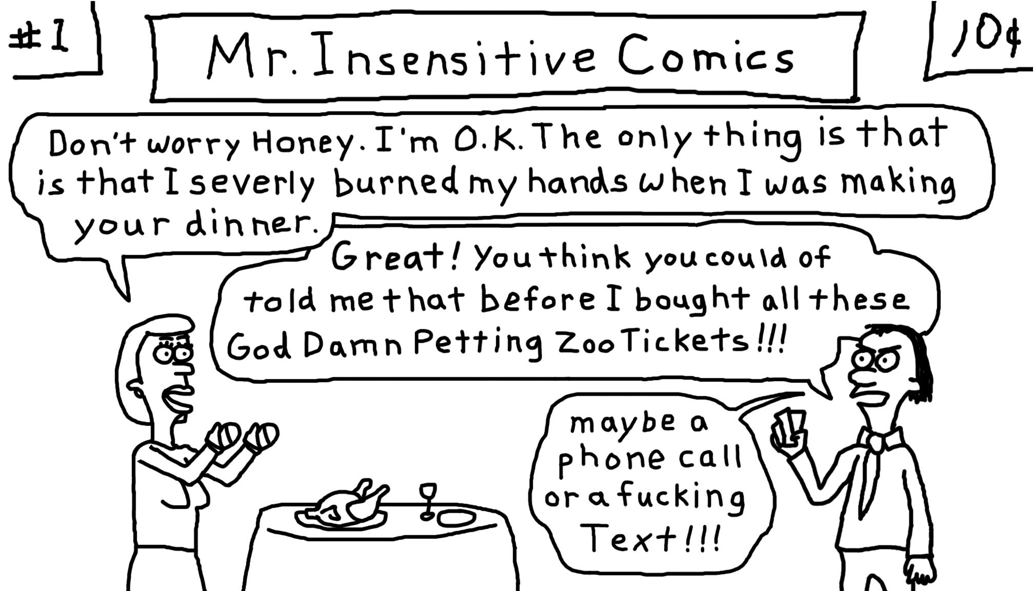 Mr. Insensitive
