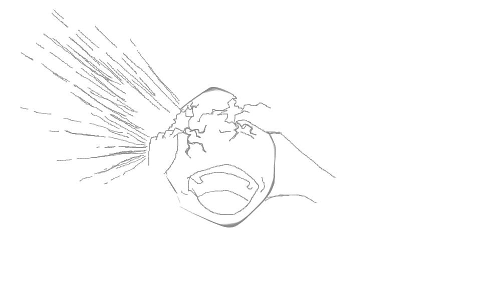 Head Explosion Sketch