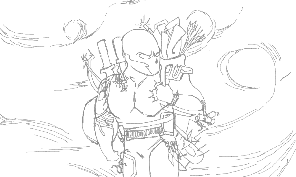 Weapons Foraging/Carrying Sketch