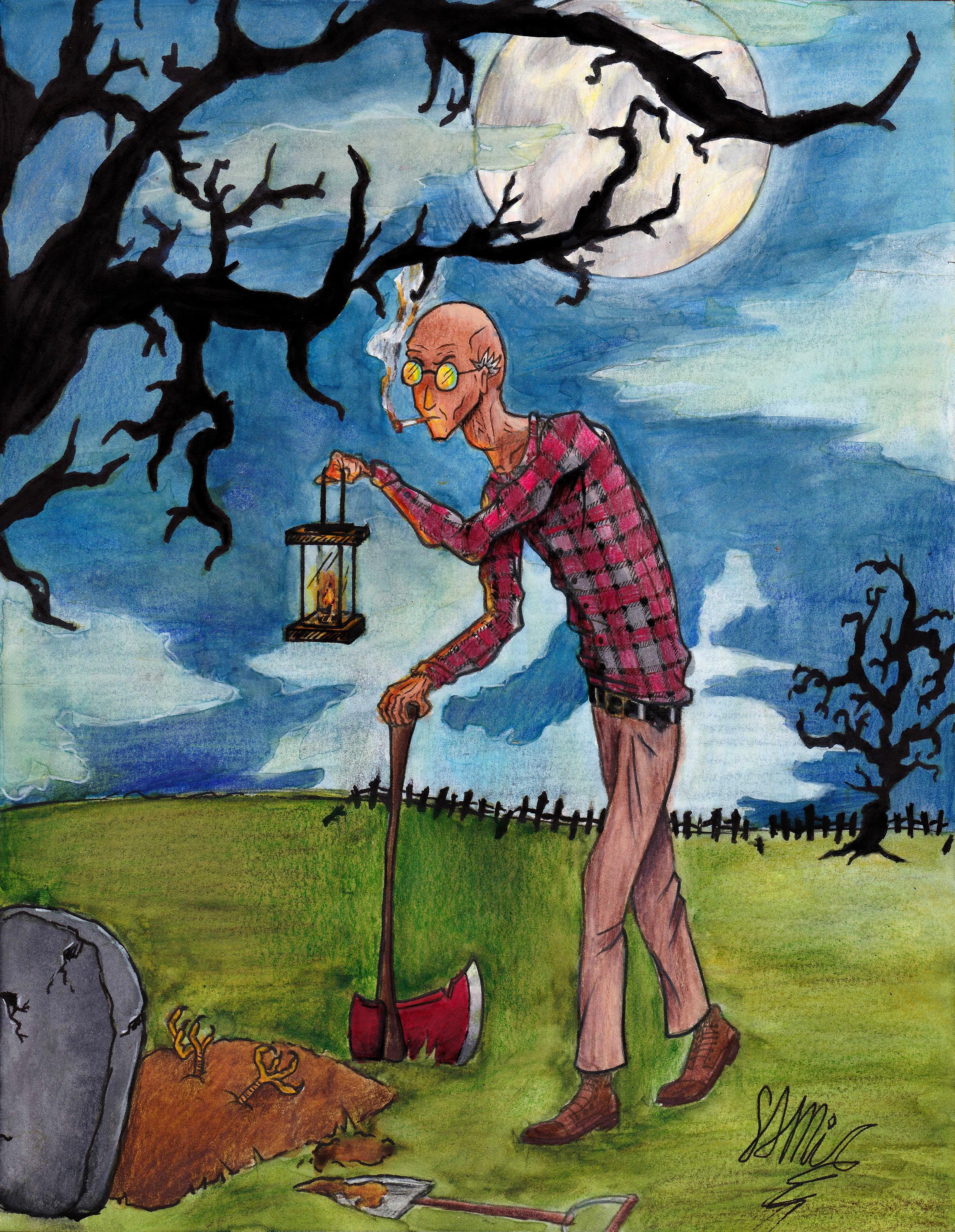 Grave-digger
