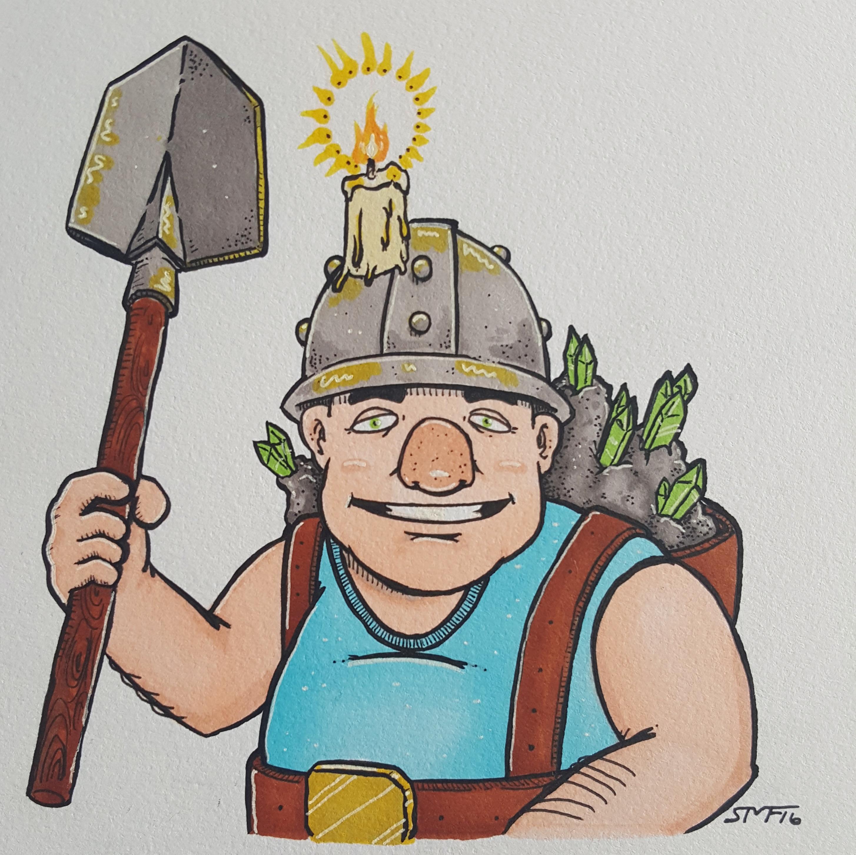 The Legendary Miner