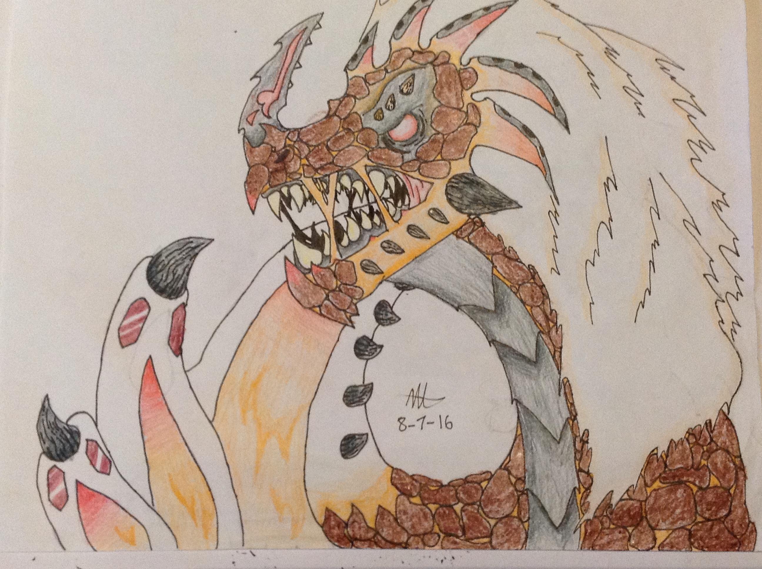 Mantle Dragon