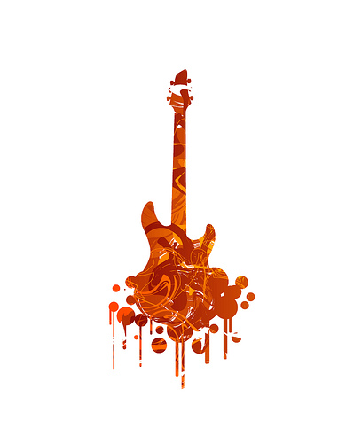 the guitar!!