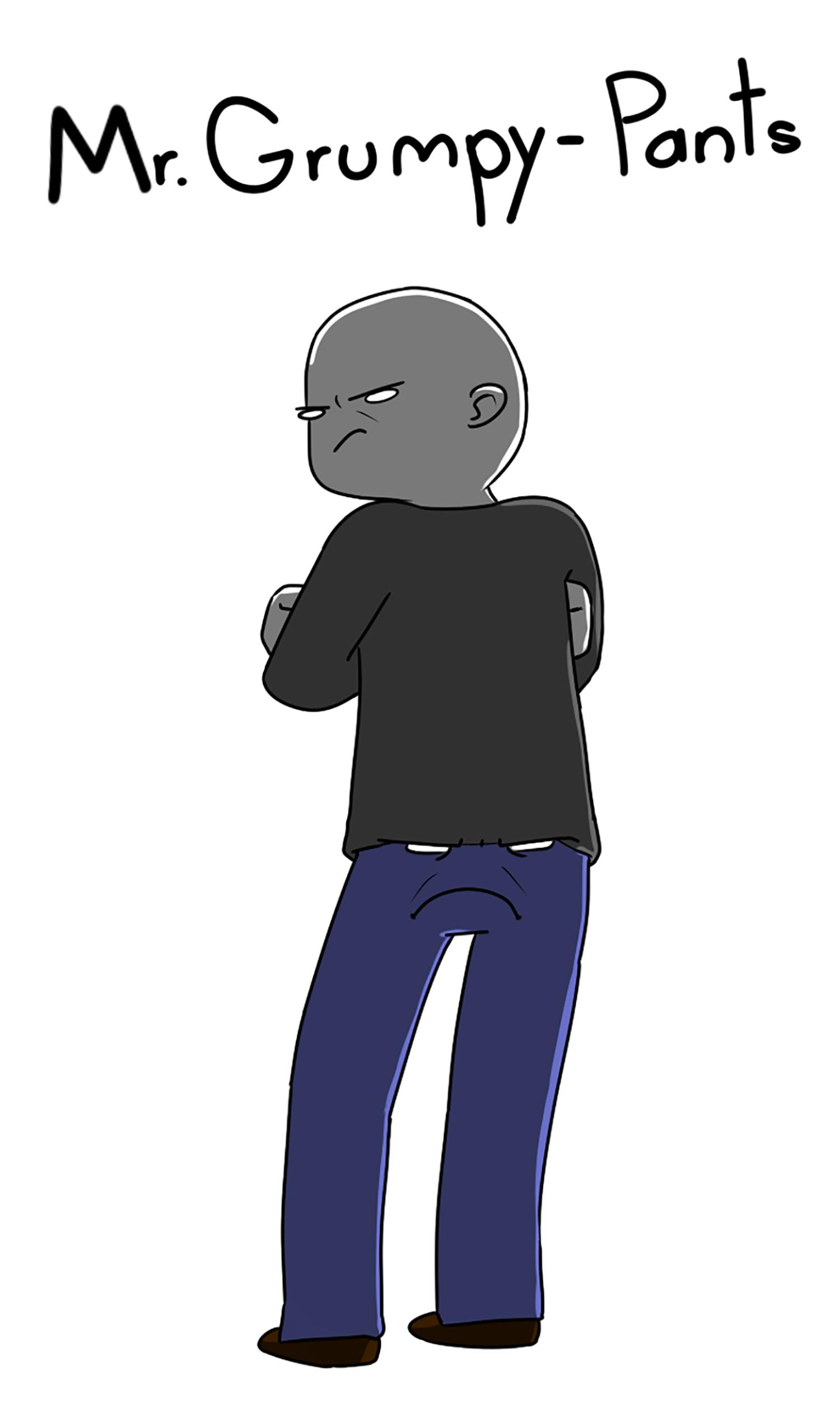 Mr. Grumpy-Pants