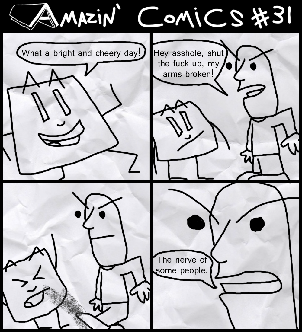 Amazin' Comics #31