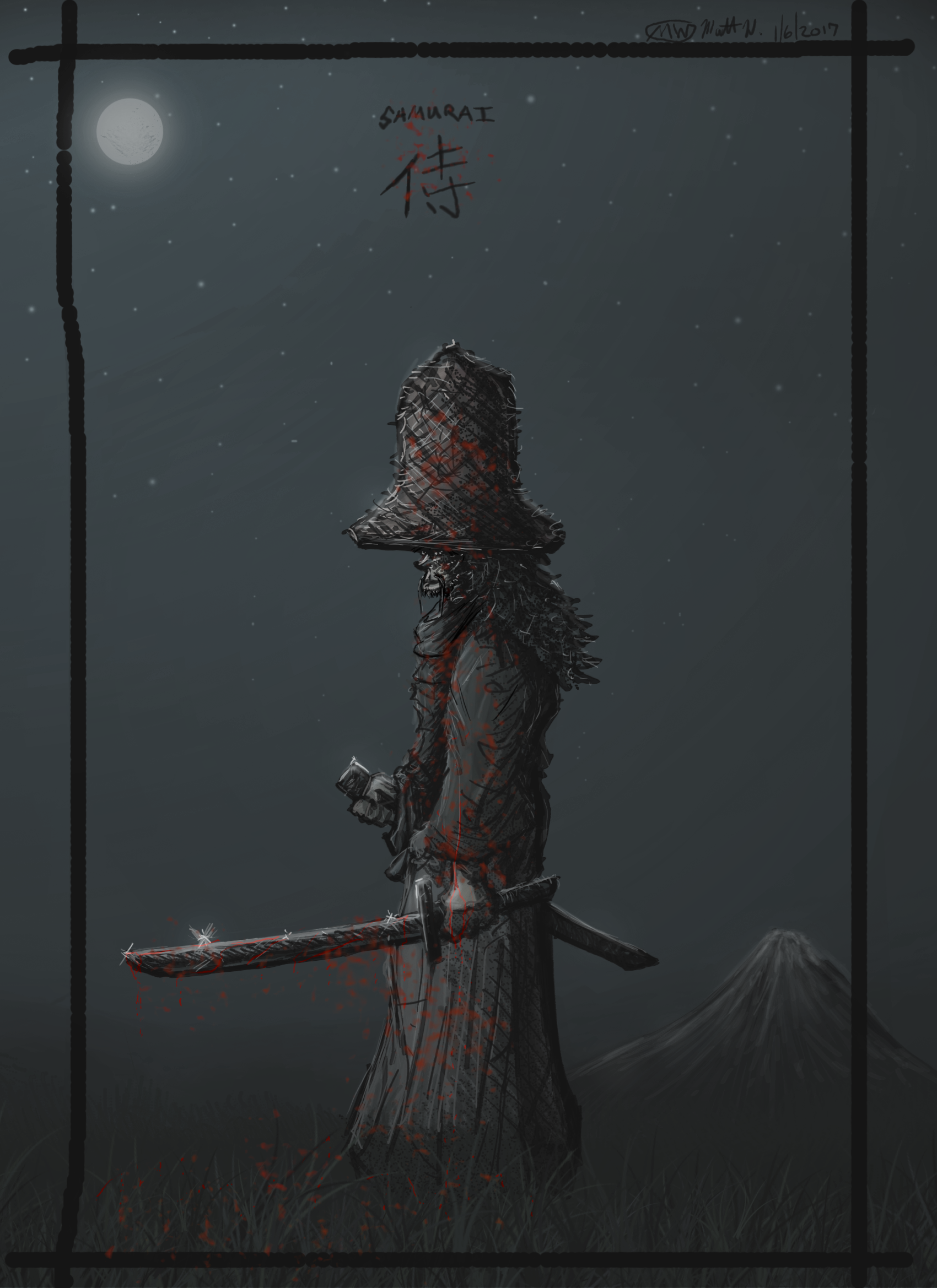 MW Samurai - big hat