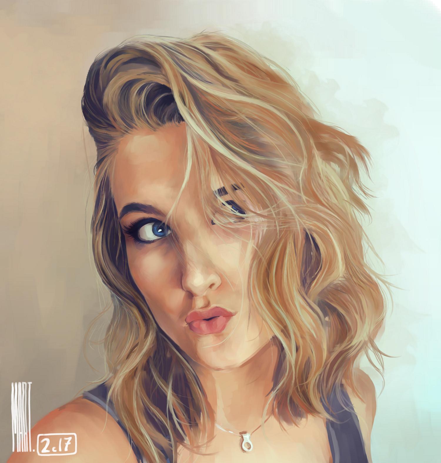 Giveaway Portrait of Matilda