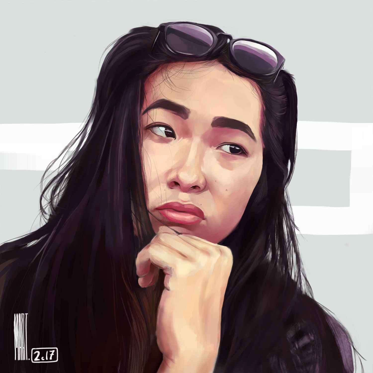 Giveaway Portrait of Demjely