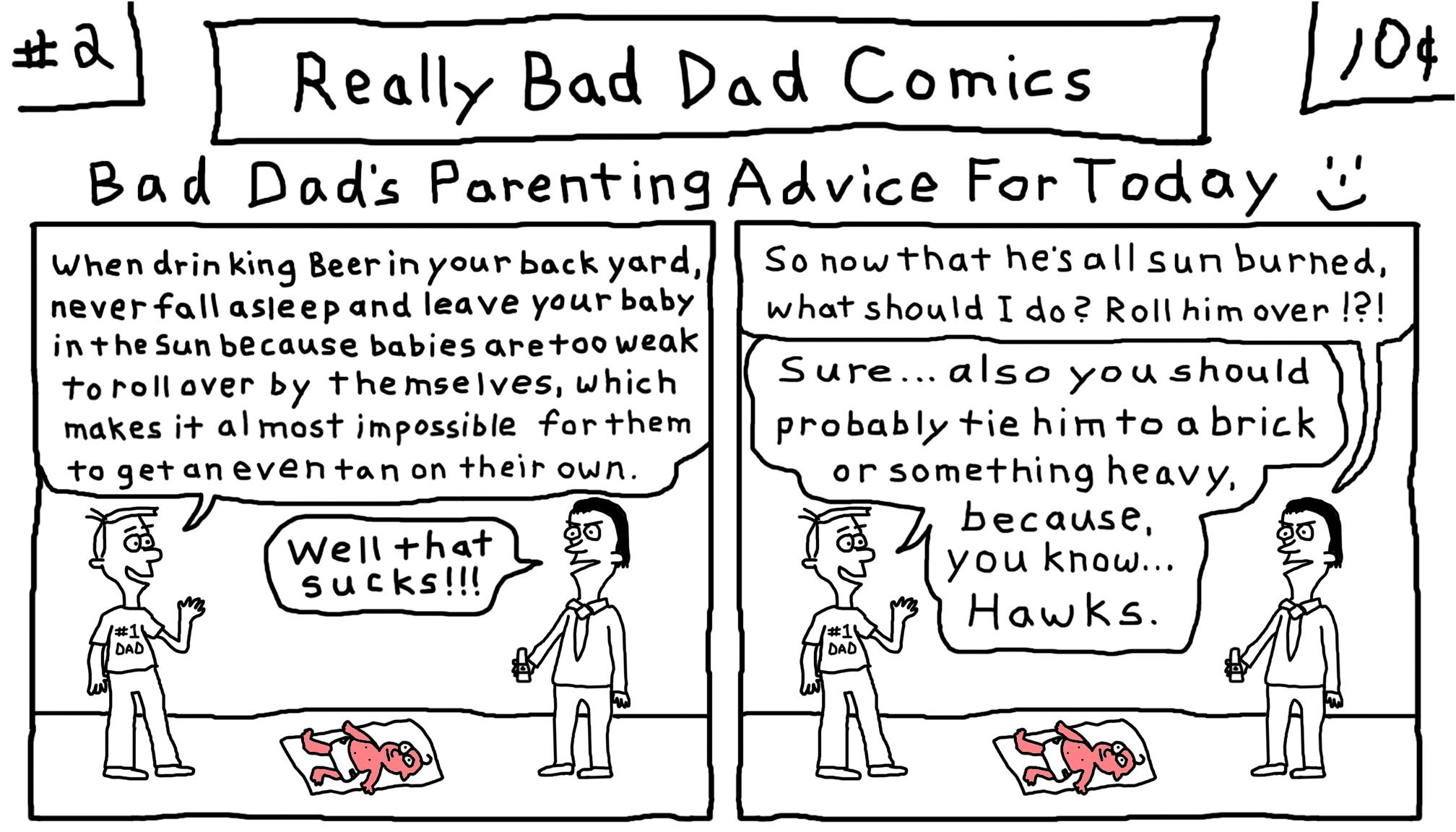 Really Bad Dad Comics # 2