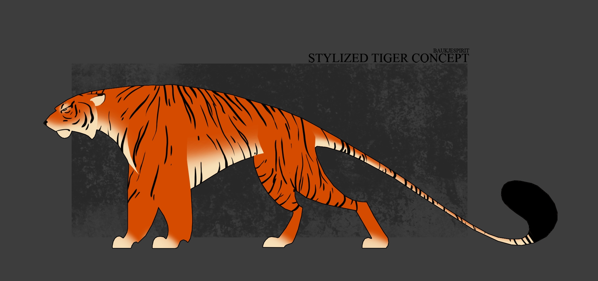 Stylized Tiger Concept