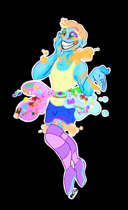 Pastel candy zombie
