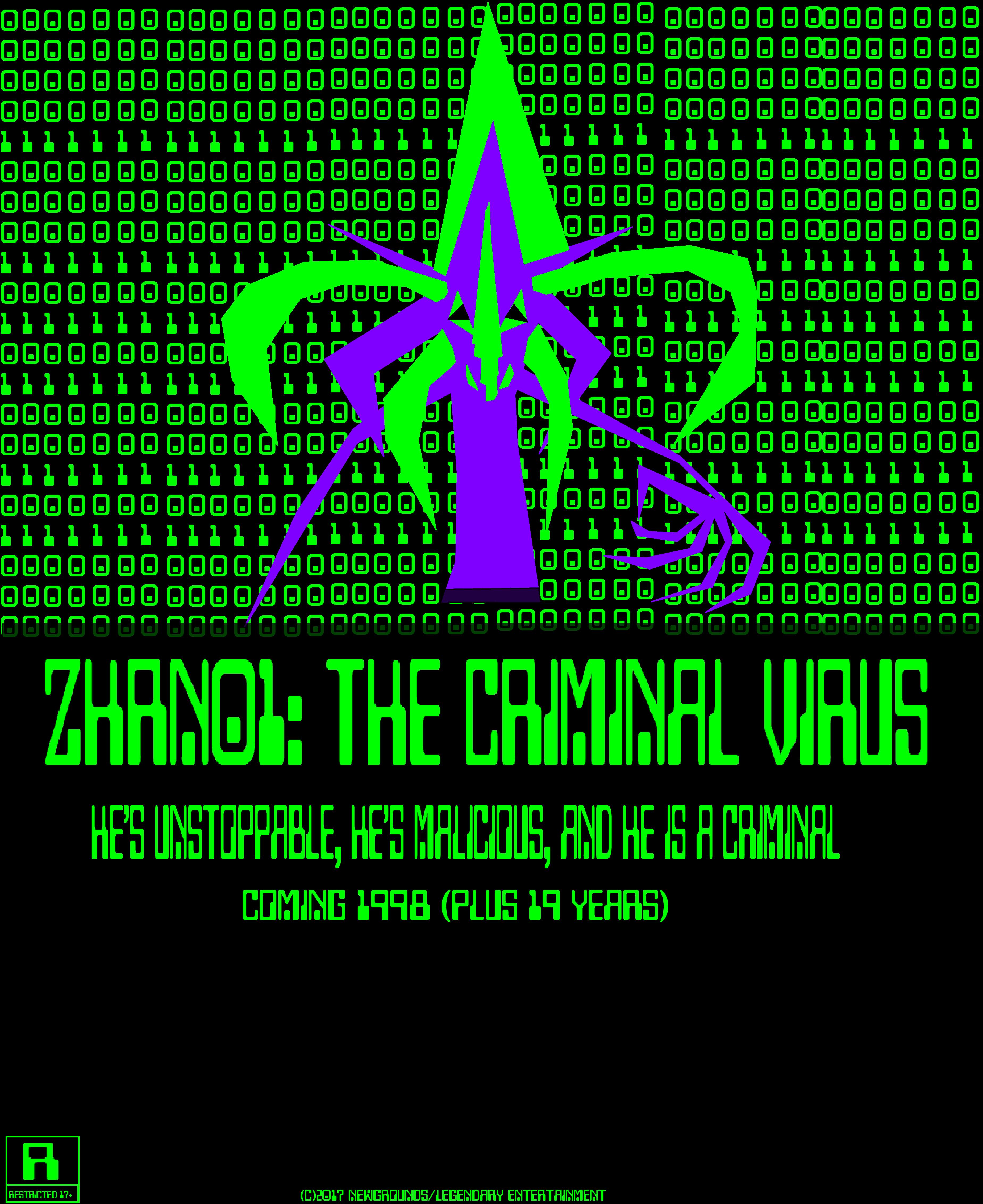 ZHRN01: The Criminal Virus (1998) Official Poster
