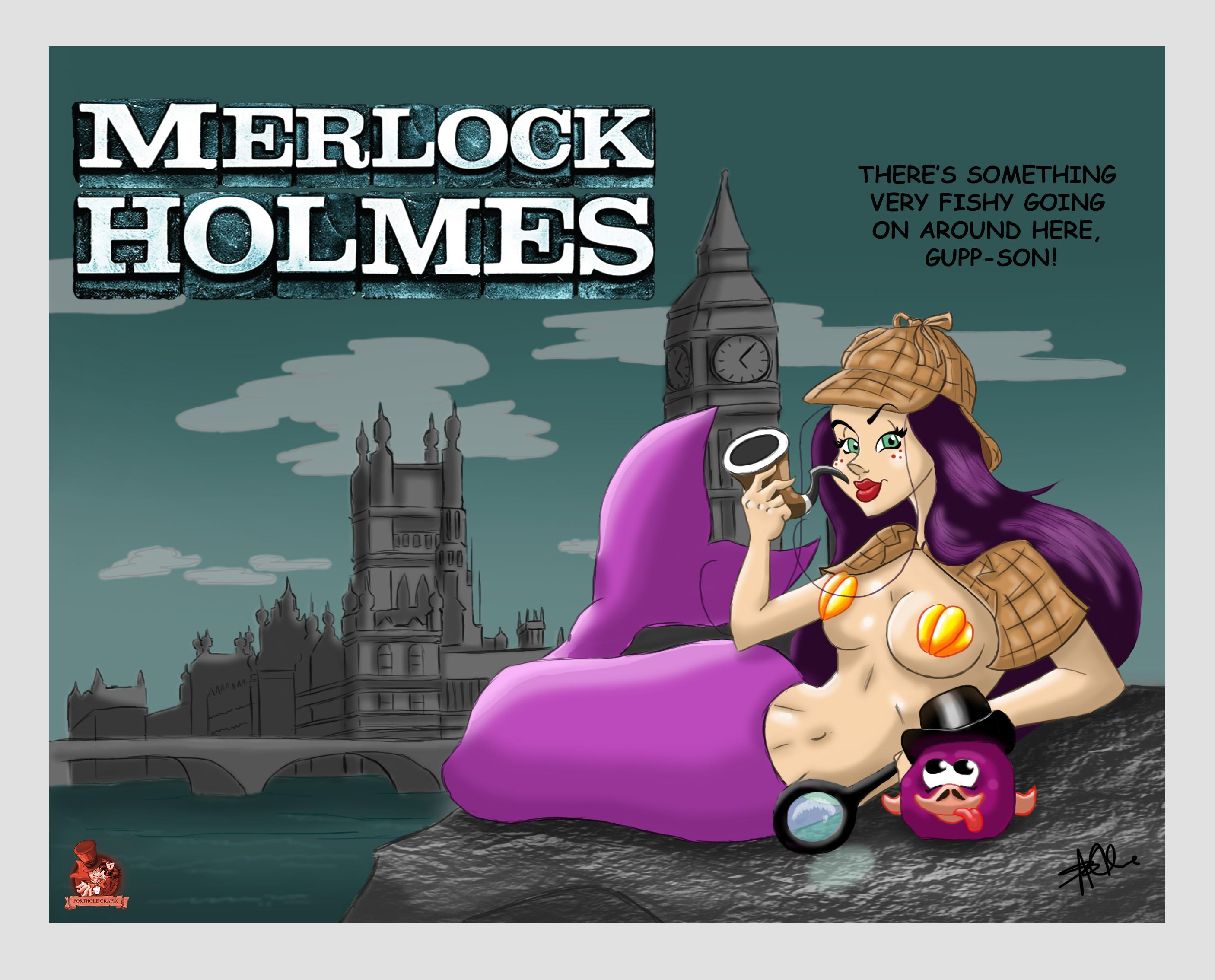 Merlock Holmes
