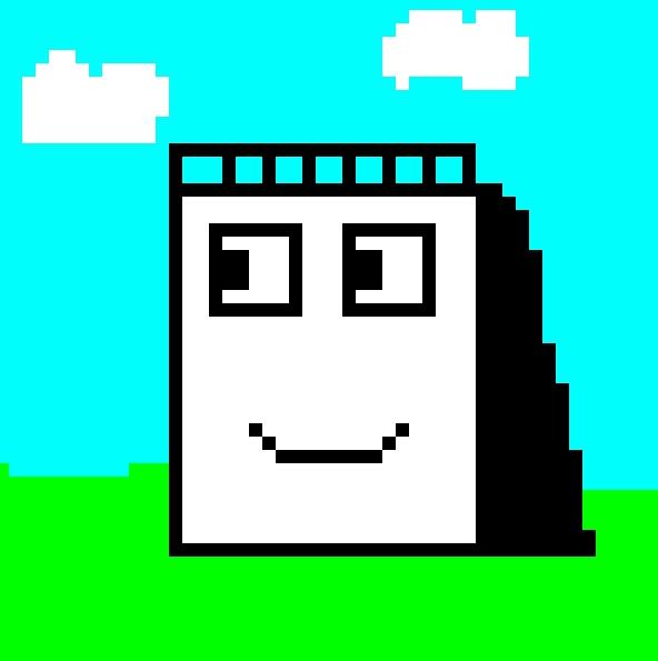 Sketchbook - Happy Pixel Day!