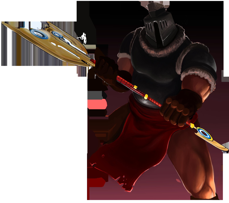 Warrior In Combat