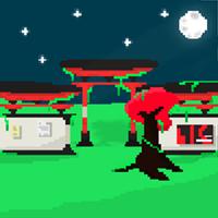 Cherry Tree & Temple