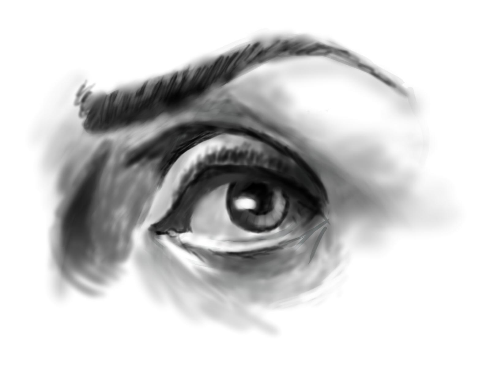 Suspicious Eye Paint