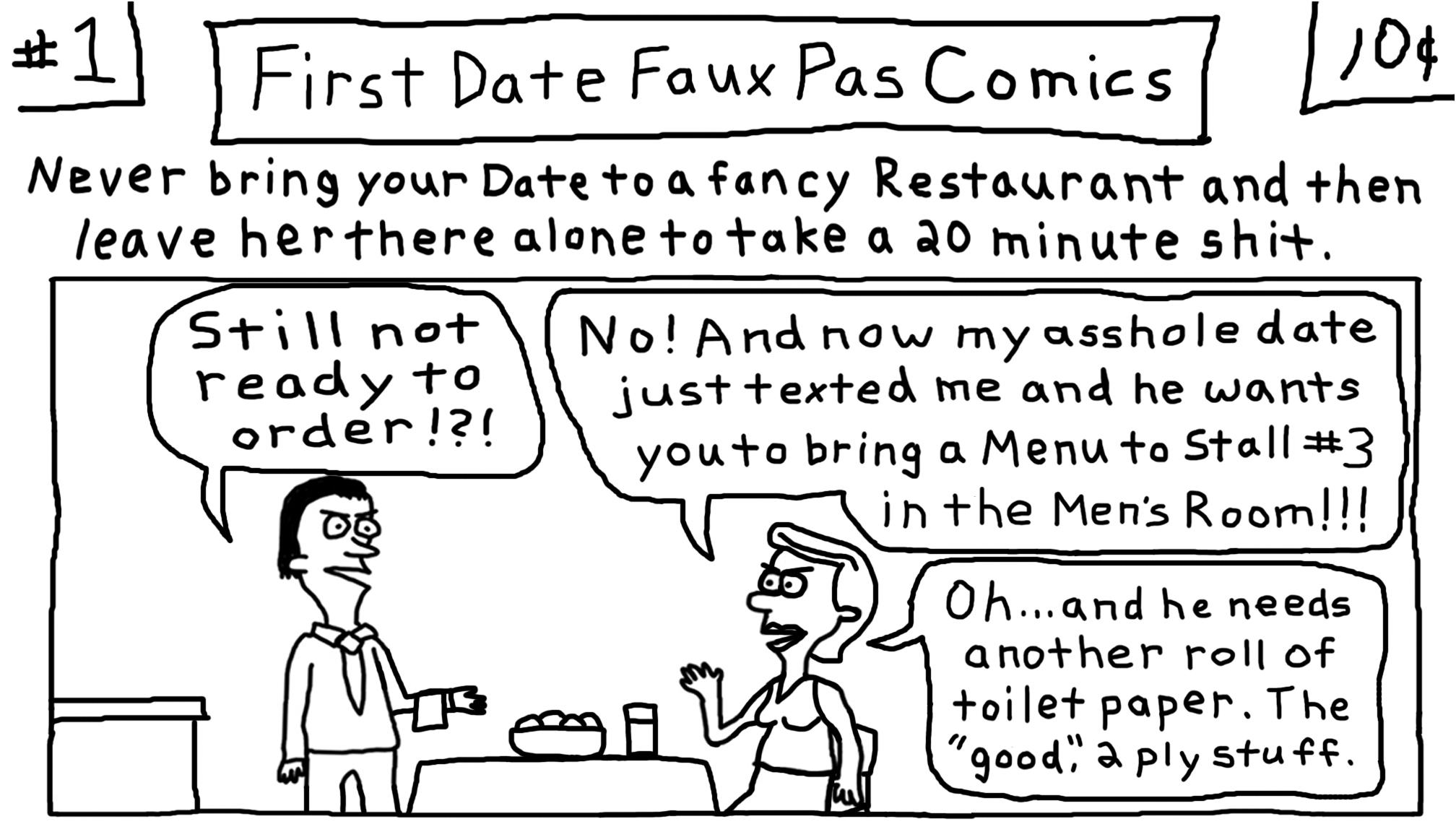 You're Bad at Dating Comics