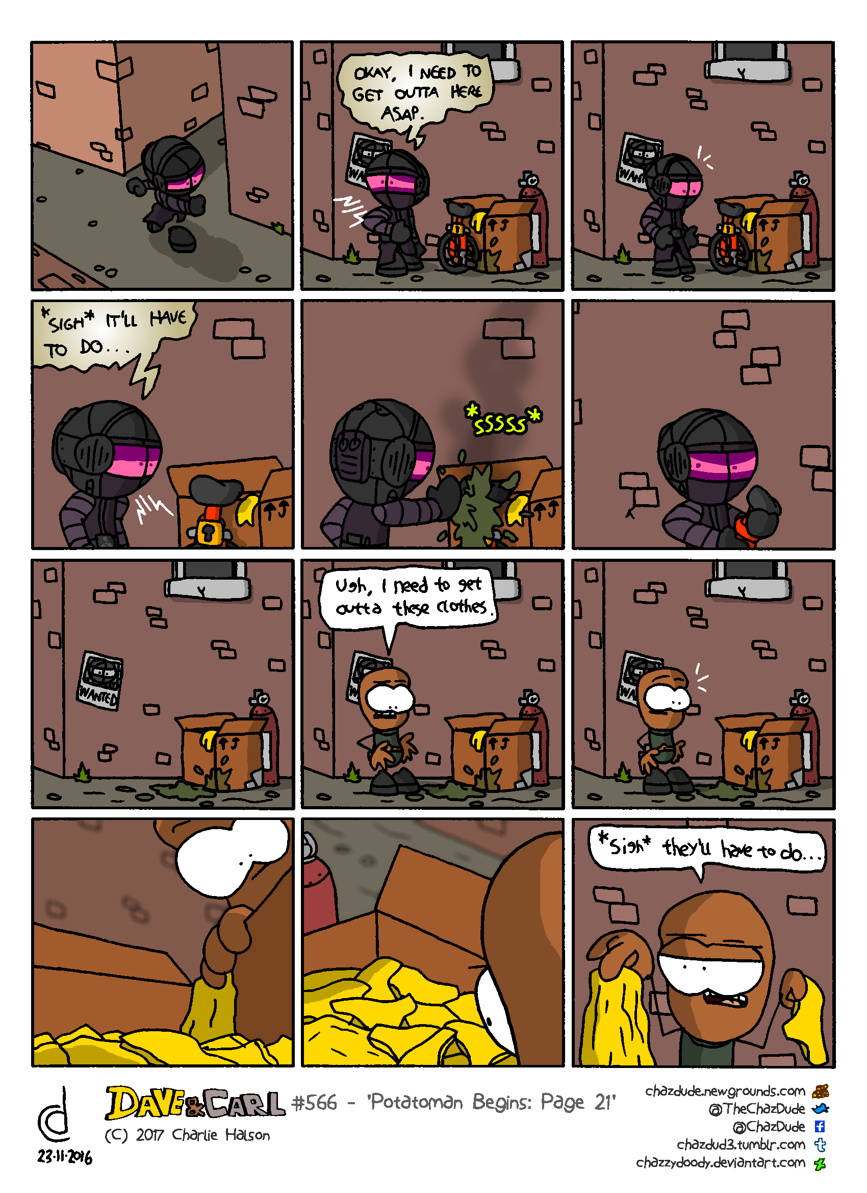 Potatoman Begins: Page 21