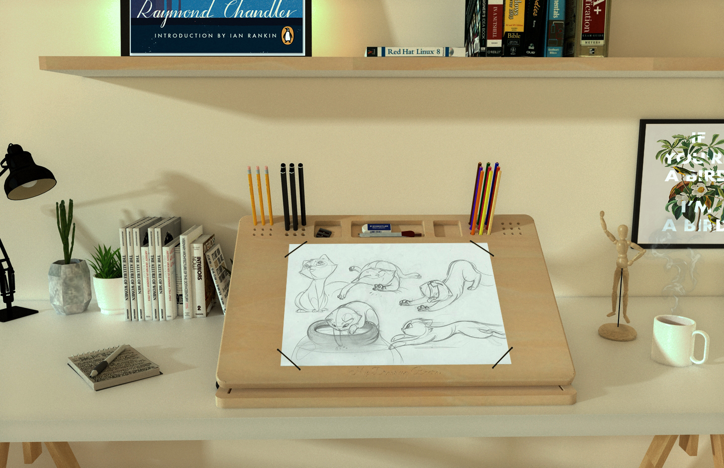 New version of My Drawing Board