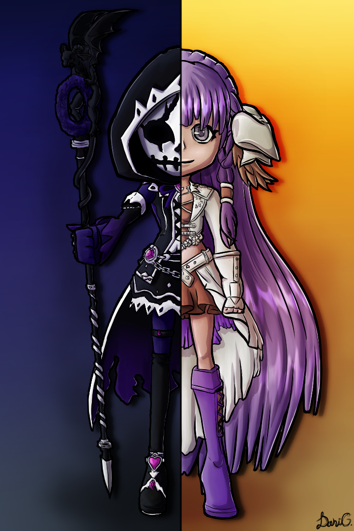 Cuteblader's Two sides